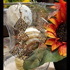 🆕️ Bohemian Inspired Square Dangle Earrings